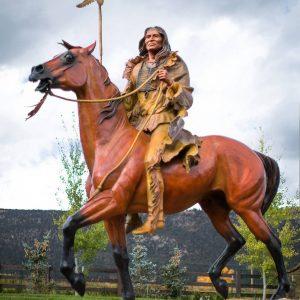 Wind Spirit Monumental 1 1/5 Life-Size Bronze