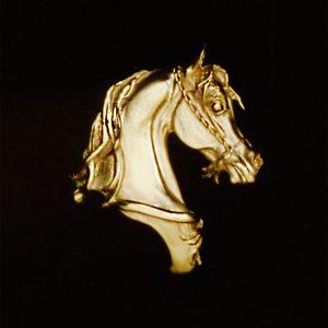 Desert Prize 14 kt. Gold Pendant