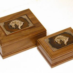 Gift of Love Walnut Valet Box Large