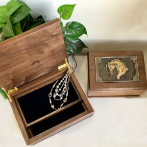 Gift of Love Walnut Valet Box Small