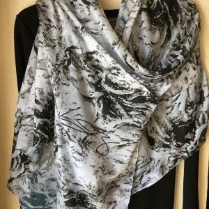 Montage Large Scarf Wrap