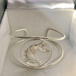 Exquisite Sterling Silver Cuff Bracelet