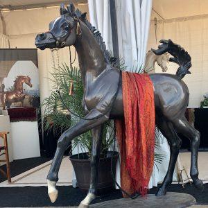 Royal Son Life-size bronze