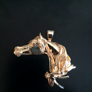 Victory 14kt. Gold Pendant